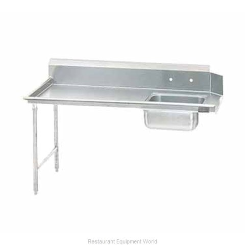 Advance Tabco DTS-S70-84L Dishtable, Soiled (Magnified)