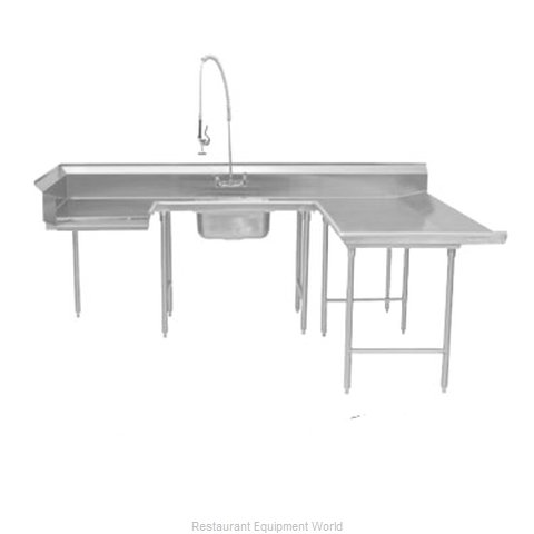 Advance Tabco DTS-U30-72R Dishtable Soiled