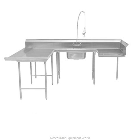 Advance Tabco DTS-U30-96L Dishtable, Soiled