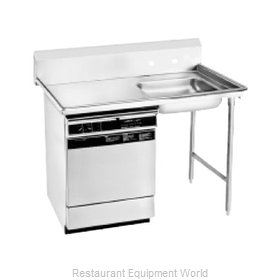 Advance Tabco DTU-U60-48R Dishtable, Soiled, Undercounter