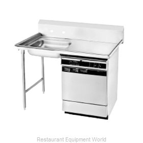 Advance Tabco DTU-U60-72L-X Stainless Steel Dishtable - Undercounter