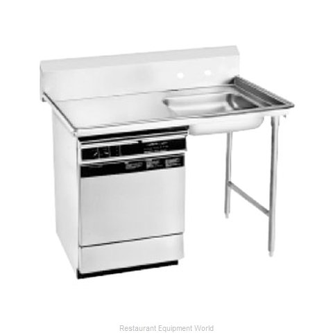 Advance Tabco DTU-U60-72R-X Dishtable, Soiled, Undercounter (Magnified)