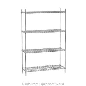 Advance Tabco ECC-2448 Shelving Unit, Wire