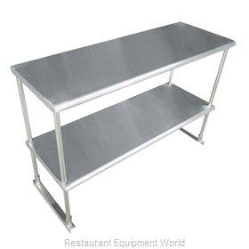 Advance Tabco EDS-12-48-X Overshelf, Table-Mounted