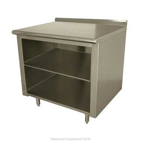 Advance Tabco EF-SS-304M Work Table Cabinet Base Open Front