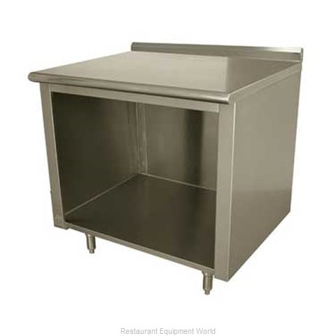 Advance Tabco EF-SS-306 Work Table, Cabinet Base Open Front (Magnified)