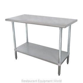 Advance Tabco ELAG-242-X Budget Series Stainless Worktable