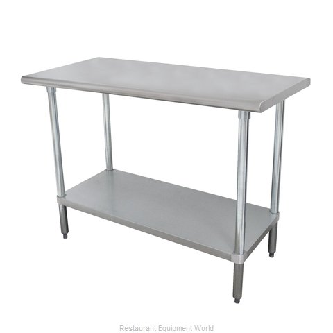 Advance Tabco ELAG-302-X Work Table 24 Long Stainless steel Top
