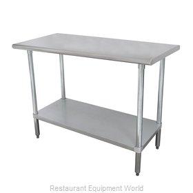 Advance Tabco ELAG-365-X Work Table,  54