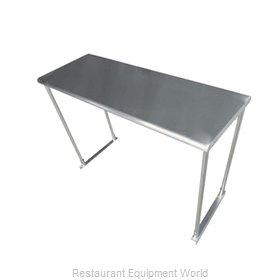Advance Tabco ETS-12-72-X Overshelf, Table-Mounted