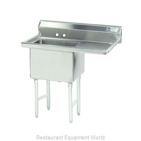 Advance Tabco FC-1-1818-18R-X Fabricated Economy Sink