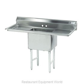 Advance Tabco FC-1-1818-18RL-X Fabricated Economy Sink
