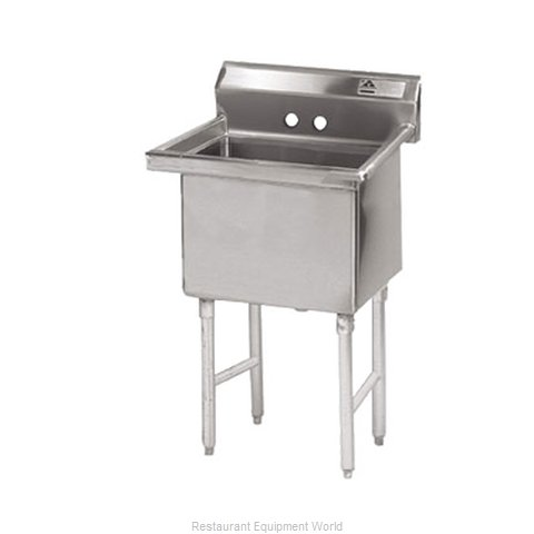 Advance Tabco FC-1-1818-X Fabricated Economy Sink