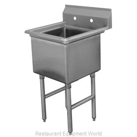 Advance Tabco FC-1-2424 Sink, (1) One Compartment