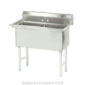 Advance Tabco FC-2-1515 Sink, (2) Two Compartment