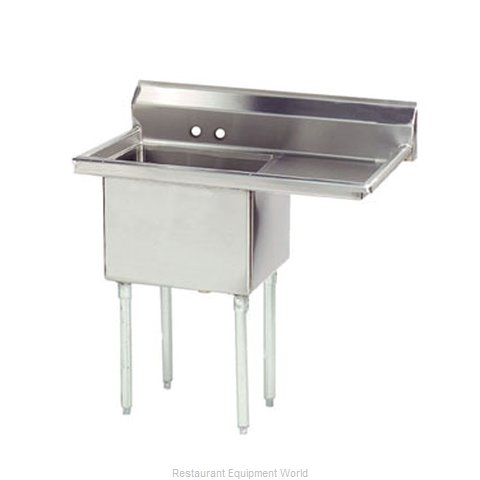 Advance Tabco FE-1-1812-18R-X Sink, (1) One Compartment