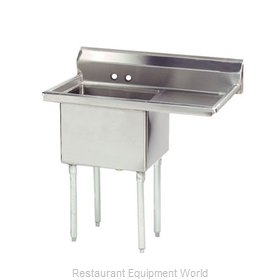 Advance Tabco FE-1-1812-18R-X Sink 1 One Compartment