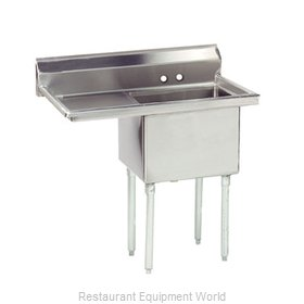 Advance Tabco FE-1-1824-24L-X Sink, (1) One Compartment
