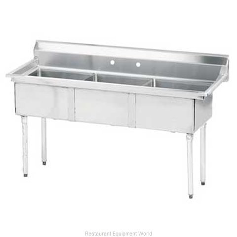Advance Tabco FE-3-1515-X Sink, (3) Three Compartment