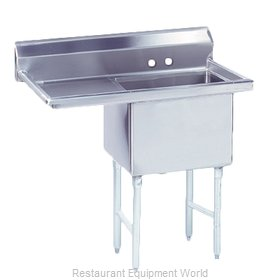 Advance Tabco FS-1-1620-18L Sink, (1) One Compartment
