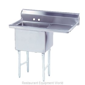 Advance Tabco FS-1-1620-18R Sink, (1) One Compartment