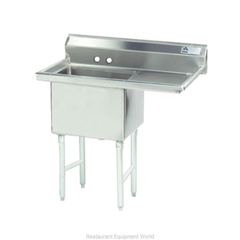 Advance Tabco FS-1-1824-18R Sink, (1) One Compartment