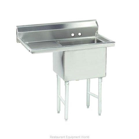 Advance Tabco FS-1-1824-24L Sink 1 One Compartment