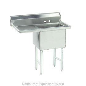 Advance Tabco FS-1-1824-24L Sink, (1) One Compartment