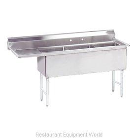 Advance Tabco FS-3-1818-18L Sink, (3) Three Compartment