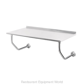 Advance Tabco FSS-W-240 Work Table, Wall-Mount