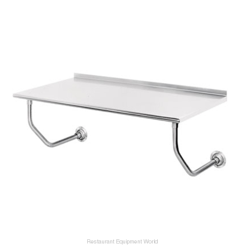 Advance Tabco FSS-W-247 Work Table, Wall-Mount (Magnified)