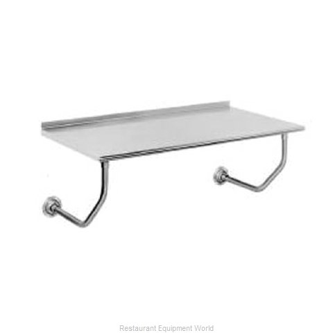 Advance Tabco FSS-W-308 Work Table, Wall-Mount