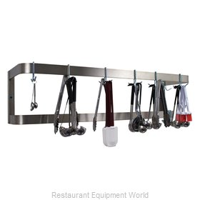 Advance Tabco GW-24 Pot Rack, Wall-Mounted