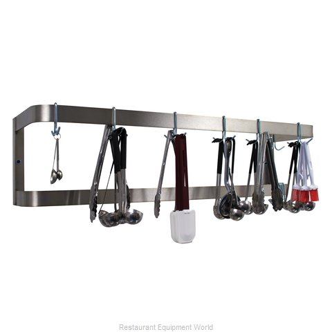 Advance Tabco GW-84 Pot Rack Wall-Mounted