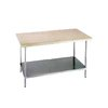 Advance Tabco H2G-365 Work Table, Wood Top