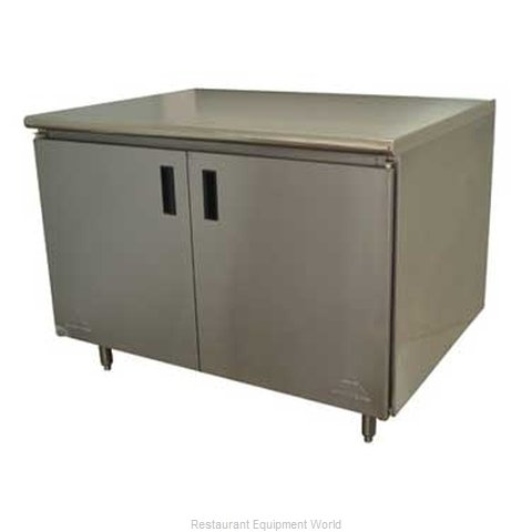 Advance Tabco HB-SS-304M Work Table Cabinet Base Hinged Doors