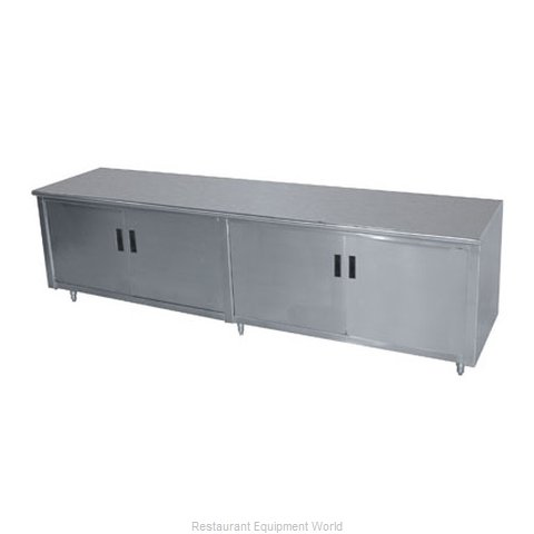 Advance Tabco HB-SS-309 Work Table Cabinet Base Hinged Doors