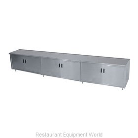 Advance Tabco HB-SS-3612M Work Table Cabinet Base Hinged Doors