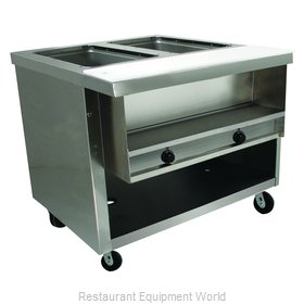 Advance Tabco HDSW-2-120-BS Serving Counter, Hot Food, Electric