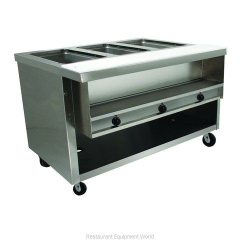 Advance Tabco HDSW-3-240-BS Serving Counter, Hot Food, Electric