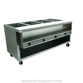 Advance Tabco HDSW-4-240-BS Serving Counter, Hot Food, Electric
