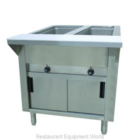 Advance Tabco HF-2E-120-DR Serving Counter, Hot Food, Electric