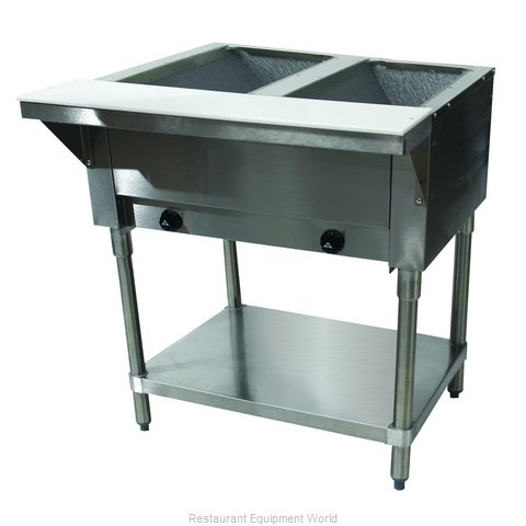 Advance Tabco HF-2G-LP Serving Counter, Hot Food, Gas