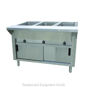 Advance Tabco HF-3E-120-DR Serving Counter, Hot Food, Electric