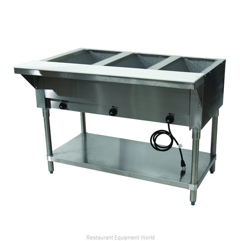 Advance Tabco HF-3E-120-X Serving Counter, Hot Food, Electric