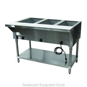 Advance Tabco HF-3E-120 Serving Counter, Hot Food, Electric