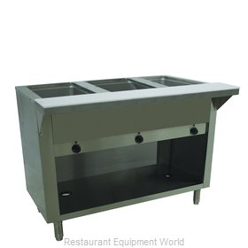 Advance Tabco HF-3E-240-BS Serving Counter, Hot Food, Electric