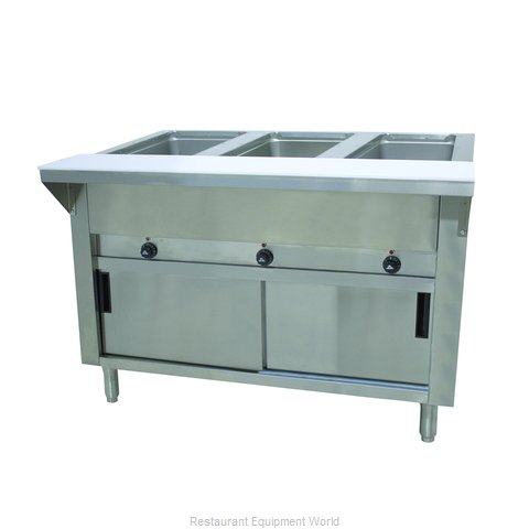 Advance Tabco HF-3E-240-DR Serving Counter, Hot Food, Electric