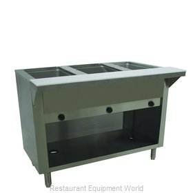 Advance Tabco HF-3G-NAT-BS Serving Counter, Hot Food, Gas