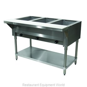 Advance Tabco HF-3G-NAT Serving Counter, Hot Food, Gas